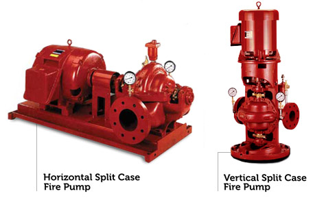 Split Case Fire Pumps - Horizontal & Vertical Houston, TX