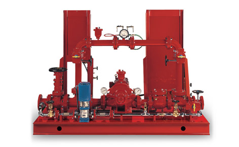 Standard Fire Pump Systems Houston Ul Listed Fire Pumps